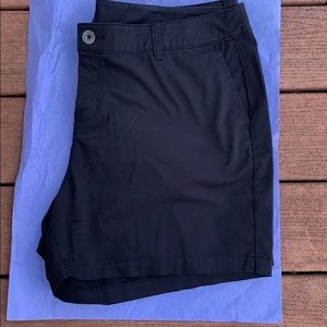 Lane Bryant girlfriend black shorts